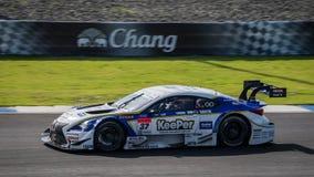 Daisuke Ito de LEXUS TEAM KeePer TOM'S em GT500 Quaiflying em Fotos de Stock Royalty Free