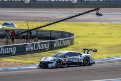 Daisuke Nakajima of NAKAJIMA RACING in GT500 Qualiflying Categor Stock Photography