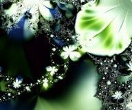 daisy łańcuszkowy fractal ilustracja wektor