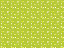 Daisy. Seamless pattern of daisies on green background royalty free illustration