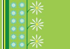 daisy abstrakcyjne tła wektora Zdjęcia Stock
