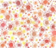 Daisy background series. Royalty Free Stock Images