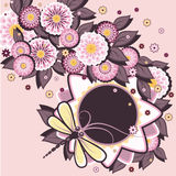 Daisy background set 1 Stock Image
