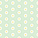 Daisy Chain  Seamless Pattern Stock Photo
