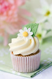 Daisy cupcake Royalty-vrije Stock Foto's