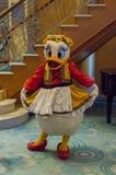 Daisy Duck em um equipamento alemão Fotografia de Stock