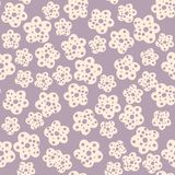 Daisy Field Teste padr?o sem emenda das flores simples da camomila ilustração stock