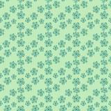 Daisy Field Teste padr?o sem emenda das flores simples da camomila ilustração do vetor