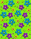 Daisy Fill Bright Green Imagenes de archivo
