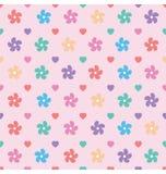 Daisy Floral Seamless Design Pattern Fotos de archivo libres de regalías