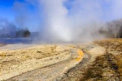 Daisy Geyser Yellowstone Stock Photo