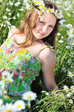 Daisy girl Stock Images
