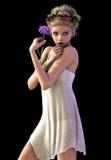 Daisy Girl CA Royalty Free Stock Photo