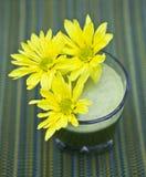Daisy health drink Royalty Free Stock Photo