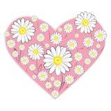 Daisy Heart Stock Fotografie