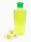 Daisy herbal shampoo stock photography
