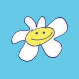 Daisy illustration Stock Image