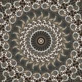 Daisy kaleidoscope. Abstract fractal image resembling a daisy kaleidoscope Stock Photography