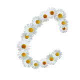 Daisy Letter C Stock Images