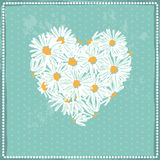 Daisy love symbol Stock Photos