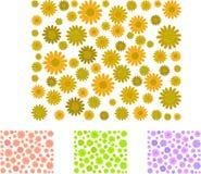 daisy patterns Στοκ εικόνες με δικαίωμα ελεύθερης χρήσης