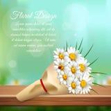 Daisy Realistic Gentle Composition Image libre de droits