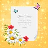 Daisy Realistic Letter Images stock
