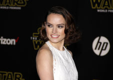 Daisy Ridley Stock Photo