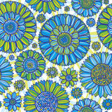 Daisy seamless pattern Stock Photography