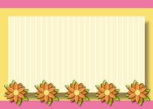 daisy tła rama Royalty Ilustracja