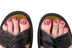 daisy toes zdjęcia royalty free