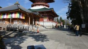 Daitou or Great pagoda of Naritasan Shinshoji or Narita Temple at Chiba Prefecture in Tokyo, Japan