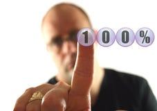 dają 100 Fotografia Stock