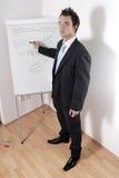 daj biznesmen, prezentacji Fotografia Stock