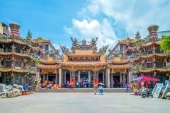 Dajia Jenn Lann Temple. Stock Photo
