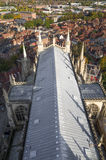 Dak bij de munster van York (kathedraal) Stock Foto's