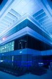 Dak-dek van een hotel, Doubai Van de binnenstad, Doubai, Verenigde Arabische Emiraat Stock Foto's