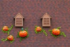 Dak en venster Stock Afbeeldingen
