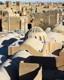 Dak en windtowers, Yazd Royalty-vrije Stock Foto's