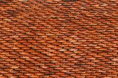 Dak met tegels voor patroon Stock Foto's