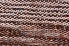Dak met tegels voor patroon Stock Foto