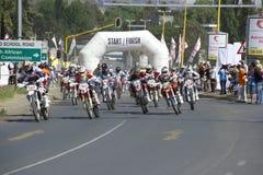 Dak van Afrika - Lesotho Stock Foto