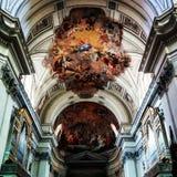Dak van de kathedraal in Palermo Stock Fotografie