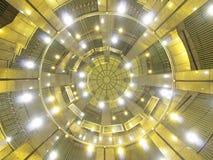 Dak van de moderne bouw Royalty-vrije Stock Afbeeldingen