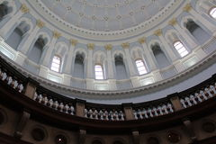 Dak van een gebouw Royalty-vrije Stock Foto