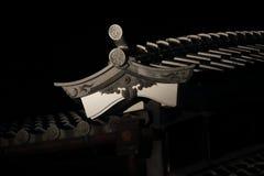 Dak van een Japans huis Royalty-vrije Stock Afbeeldingen