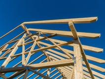 Dak van een nieuw dak Royalty-vrije Stock Foto's