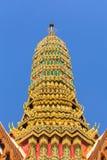 Dak van Emerald Buddha royalty-vrije stock foto's