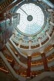 Dak van globaal de havenwinkelcomplex van Shanghai Stock Fotografie