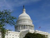 Dak van het Capitool van de V.S. Stock Foto's